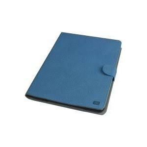 Promate 6959144005089  Dash-Air Protective Leather Case with In-Built 8000 mAh Back-up Battery-Blue
