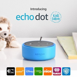 Amazon Echo Dot Kids Edition Smart Speaker with Alexa for kids (2nd Generation) - Blue