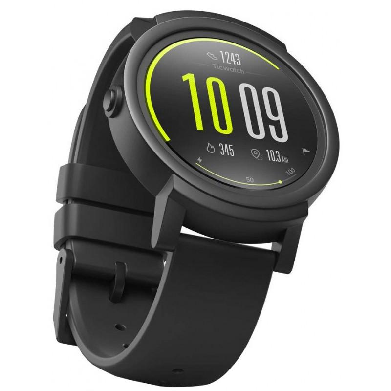 Ticwatch E Express Knight Smartwatch - Black