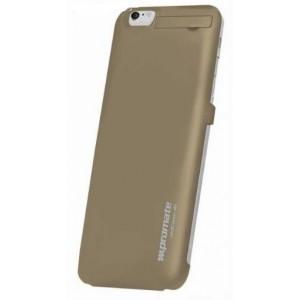 Promate 6959144017921  aidCase-i6P 4000mAh Lithium Polymer Super Slim Battery Case - Gold