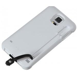 Promate  6959144010755   Powercase S5 2100mAh Ultra-Slim Power Case For Samsung Galaxy S5 -White