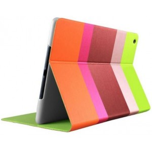 Promate  6959144003283  Klyde-Ultra-Slim Multi-colored Premium Case for iPad Air-Maroon