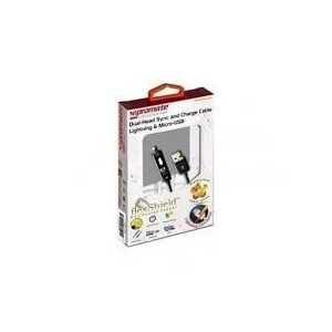Promate linkMate.Duo Dual-ended Charge and Sync Cable