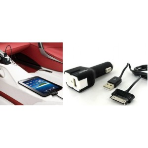 Promate 4161815183817 proCharge.GT Multifunction Car Charging Kit for Samsung Galaxy Tab