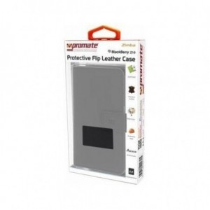 Promate  6959144000305  Zimba Blackberry Z10 Protective Flip Leather Book-Style Case