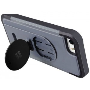 Promate  6959144003610  Ride.i5 iPhone 5 Shock Proof Rubberized Case with a Detachable Bike Mount -Grey