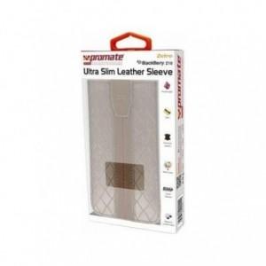 Promate  4959144000116  Zetro BlackBerry Z10 Ultra Slim Leather Sleeve-Brown