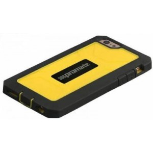 Promate  6959144013688   Armor-i6 Rugged & Impact Resistant Protective Case For iPhone 6 - Yellow