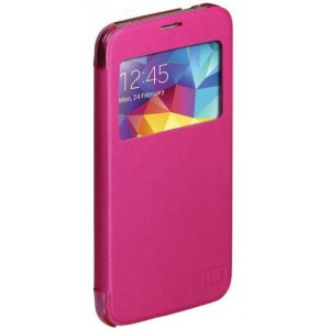 Promate  6959144009445  Fenes S5 Bookcover with Window  -Pink