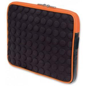 Manhattan 439633   Universal Tablet Bubble Case -Black/Orange