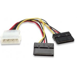 Manhattan 349369 SATA Power Y Cable