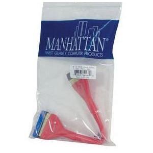 "Manhattan  341684  ATA 100 Round Flat Cable - 10"""