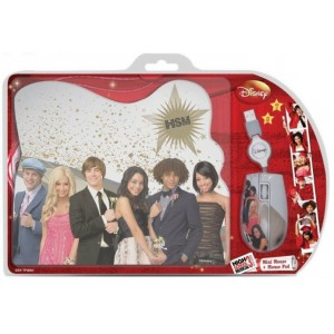 Disney   DSY-TP6001  High School Musical Mouse & Mouse Pad Gift Set
