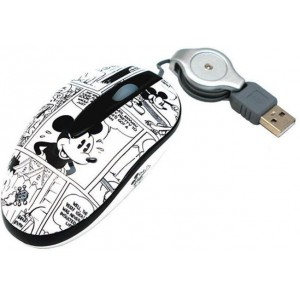 Disney  DSY-MM200  Mickey Mouse Mini Optical USB Mouse