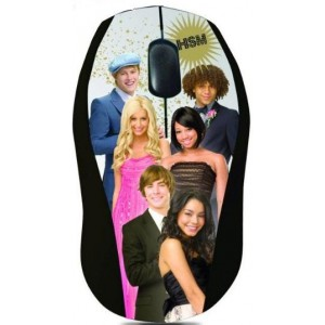 Disney  DSY-MO173  High School Musical Optical USB Mouse