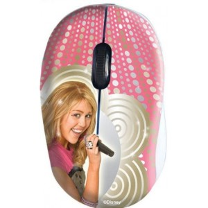 Disney  DSY-MM281  Hannah Montana Mini Optical USB Mouse
