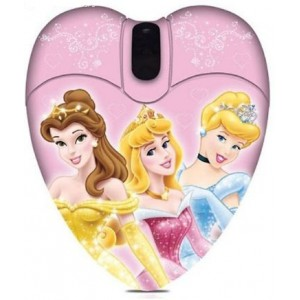 Disney  DSY-MM212  Princess Mini Optical USB Mouse