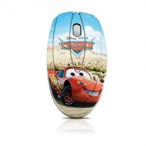 Disney   DSY-MO111  Cars Optical USB Mouse