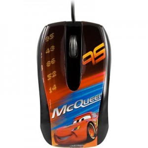 Disney  DSY-MO112  Cars Optical USB Mouse