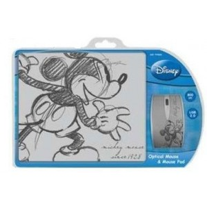 Disney  DSY-TP3002  Mickey Mouse & Mouse Pad Gift Set