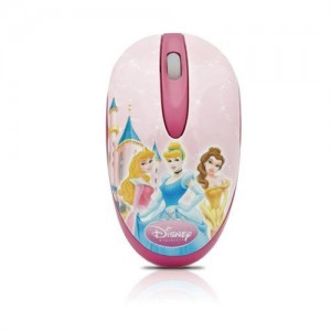 Disney  DSY-MM211  Princess Mini Optical USB Mouse