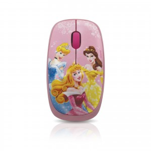 Disney  DSY-MO105  Princess Optical USB Mouse