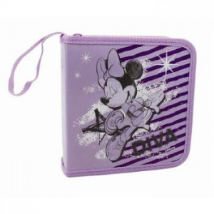 Disney  DSY-CF1600  Minnie Mouse 24 CD Wallet