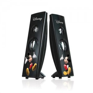 Disney DSY-SP433 Mickey Mouse Tower Desktop Speaker-USB Interface