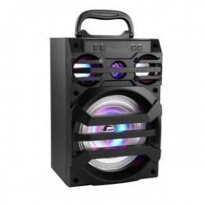 Microworld KTS902-BLACK Portable Speaker + Radio Black