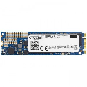Crucial CT250MX500SSD4 250GB M.2 2280DS SSD