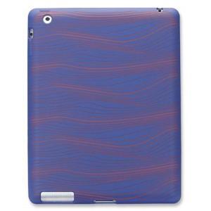 Manhattan 450201  iPad 2 & 3 Silicon Sleeve with Wave Design