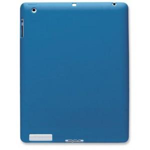 Manhattan 450034   iPad 2 & 3 Silicon Slip-fit Sleeve -Blue