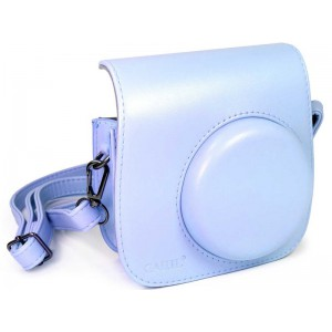 Tuff-Luv  E10_96  Faux Leather Camera Case for Instax Mini 8-8s - Blue