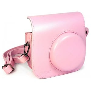 Tuff-Luv  E10_94  Faux Leather Camera Case for Instax Mini 8-8s - Pink