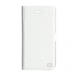 Promate  6959144002422 Tava 5C Book-Style Flip Case with Card Slot for iPhone5c-White