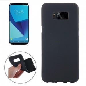 Tuff-Luv  I1_96  Samsung Galaxy S8 Soft feel TPU Smartphone Case - Black