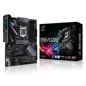 Asus STRIX H370-F Gaming LGA1151 (300 Series) DDR4 DP HDMI DVI M.2 ATX Motherboard