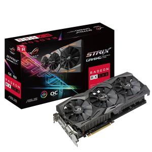 Asus STRIX-RX580-O8G GAMINGOC Edition GDDR5 DP HDMI DVI VR Ready AMD Graphics Card
