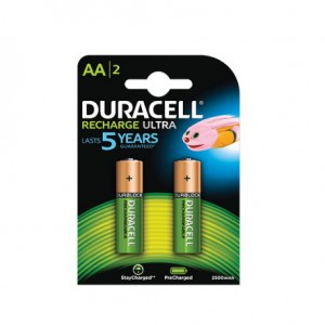 Duracell D056985 Rechargeable AA 2500mAh 2s 10 Pack Battery