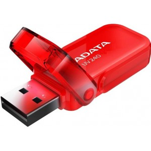 Adata  AUV240-32G-RRD  USB 2.0 32GB USB Flash Drive -Red