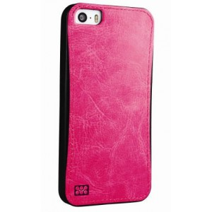 Promate 6959144013725  Lanko-i6 Leather Flexible Snap-on Case - Pink