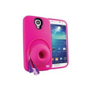 Promate  6959144005041 Orator-S4 Sound Amplifier Case for Samsung Galaxy S4 - Pink