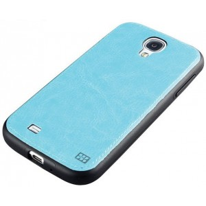 Promate 6959144004785 Lanko.S4 Hand-Crafted Leather Case-Blue