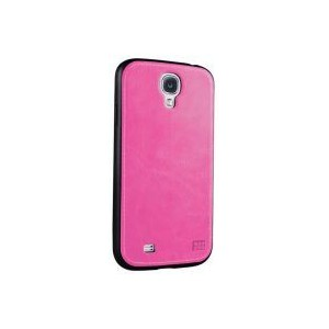 Promate 6959144004792 Lanko.S4 Hand-Crafted Leather Case-Pink