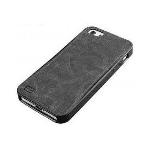 Promate 6959144004822 Lanko.i5 iPhone 5 Hand-Crafted Leather Case-Black