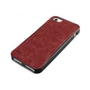 Promate 6959144004853 Lanko.i5 iPhone 5 Hand-Crafted Leather Case-Brown