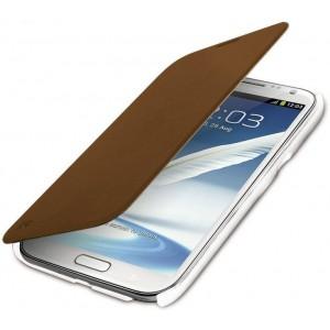 Promate 3161815111453 Aknol-Premium Leather Flip Case-Brown