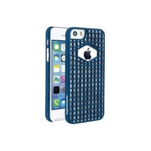 Promate 6959144003931Spidy.i5 Designed Promate Protective Case for iPhone 5/5S-Blue