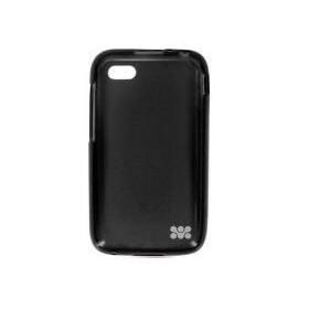 Promate 6959144002071 Akton-Q5 Blackberry Q5 Multi-colored Flexi-grip Designed Case-Black