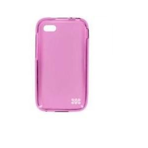 Promate 6959144002095 Akton-Q5 Blackberry Q5 Multi-colored Flexi-grip Designed Case-Pink